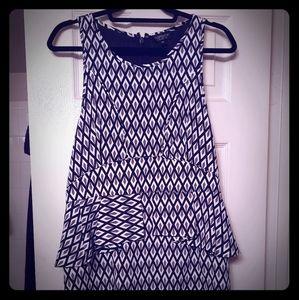 NWT Topshop Sleeveless Peplum Dress